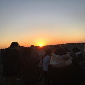中田島砂丘の初日の出