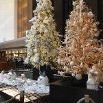品川ストリングスホテルのクリスマスツリー